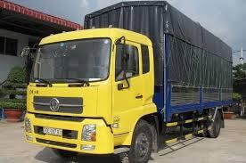 Xe tải thùng 9 tấn Dongfeng hoàng huy B190-33