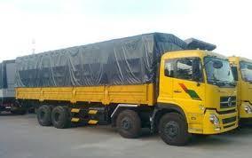 Xe tải thùng 4 chân Dongfeng Hoàng Huy