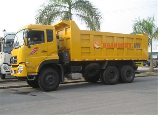 Xe tải ben Dongfeng Hoàng Huy 3 chân DFL3251