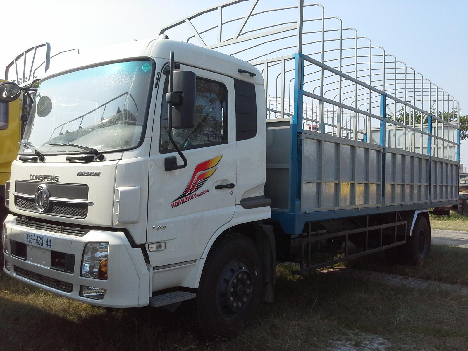 Xe tải thùng 8T4 tấn Dongfeng hoàng huy B190-33