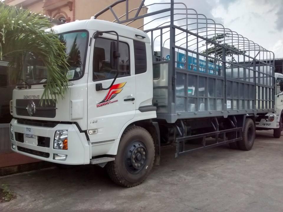Xe tải Dongfeng B170 thùng dài 7m5 tài trọng 9T